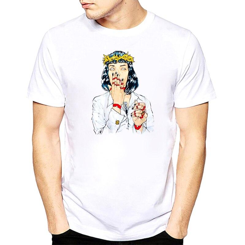 virgin-mary-mia-wallace-t-shirt-men-pulp-fiction-classic-movie-poster-t-shirt-male-quentin-font-b-tarantino-b-font-top-tees-s-3xl