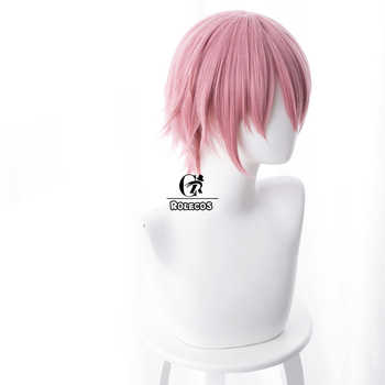 ROLECOS Anime Gotoubun no Hanayome Ichika Nakano Cosplay Hair 30cm The Quintessential Quintuplets Cosplay Headwear Pink Hair