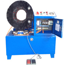 KYJ6102JX 4 Inch hydraulic hose crimping machine 16 abrasive moulds High quality Metalworking hydraulic pipe benders