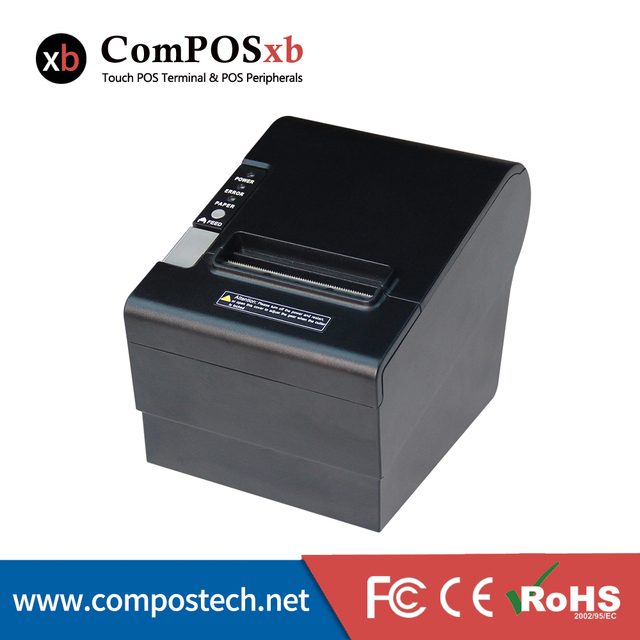 De alta Calidad de Impresión de 80mm Impresora Térmica de Recibos POS impresora de Billetes Pequeños ShopPrint De Corte Automático