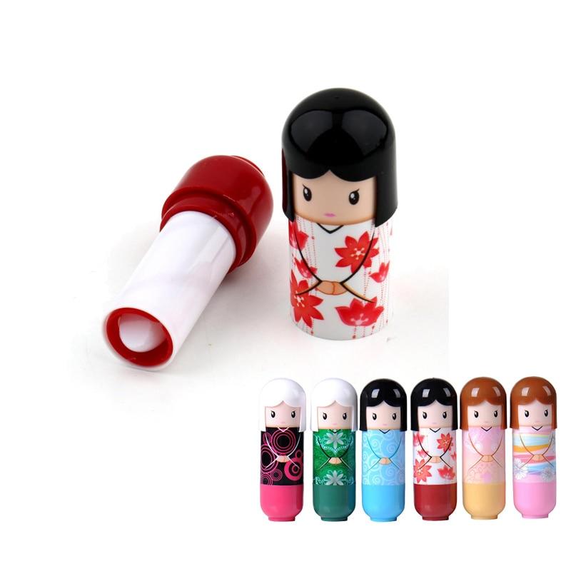 bebe balsamo labial bonito quimono boneca batom hidratante profundo batom labios do bebe nutricao batom redondo