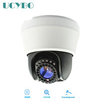 AHD Mini PTZ Camera 960p Hd Vandalproof Pan Tilt 4XZoom 1 3MP Analog Ir Infrared CCTV