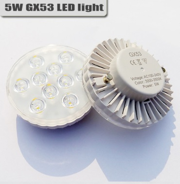 цены 20pcs/lot GX53 led lamp 5w 7w downlight ultra bright led bulb smd5730 led light ac 110V 220v warm colde day light cabinet light