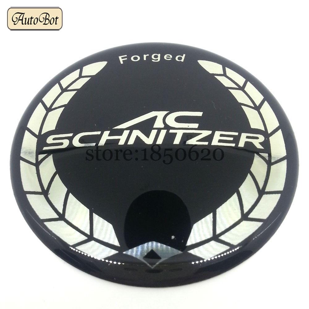 10pcs 68mm white ac schnitzer logo emblem wheel center caps badge wheel logo tire logo for bmw logo e39 e46 e60 e61 e87 f30 etc in emblems from automobiles  [ 1000 x 1000 Pixel ]