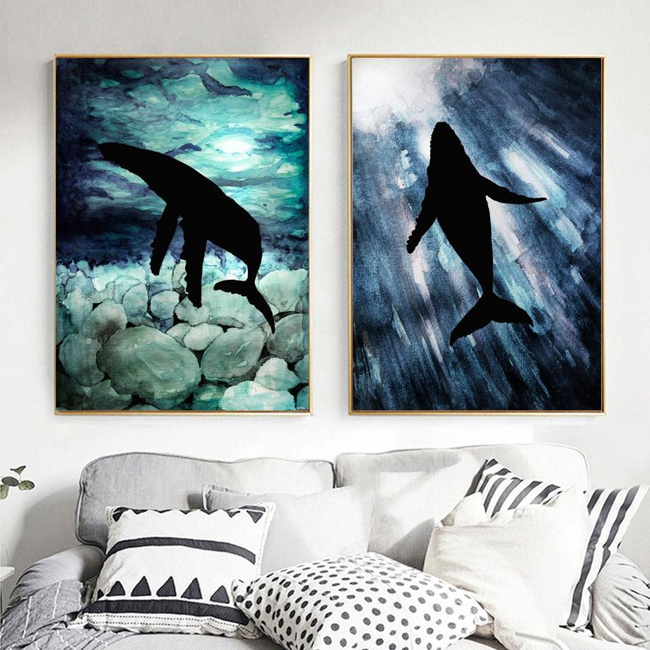 44 Lukisan Cat Air Pemandangan Laut Terbaru