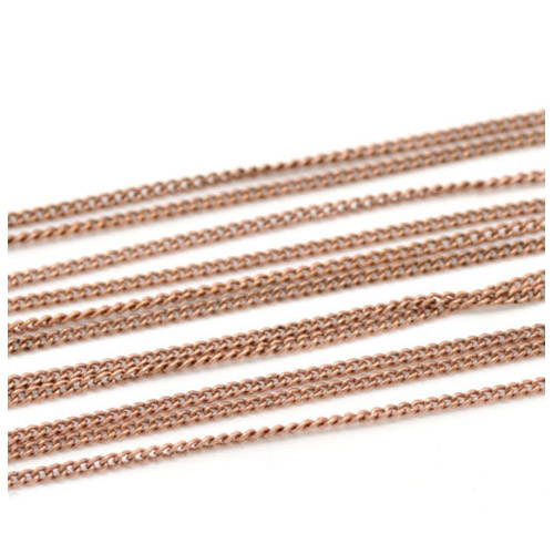 10 M Bronze Link-gelötet Curb Ketten