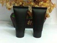 30 ml 50 stücke schwarz weichen schlauch/schwarz pp schraubverschluss/creme lotion flasche/kosmetikverpackungen leere flaschen