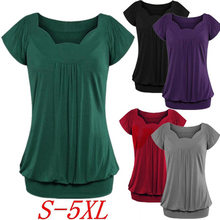 Plus Size S-5XL Maternity pregnancy t shirt 2018 New O-Neck Short Sleeve Maternity Tops Tee Clothes for Pregnant Women Tshirts(China)