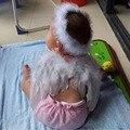 Bebé del Estilo del verano Ropa Ángel Fairy Wing Feather Vestuario Apoyo de la Foto Del Bebé Niño Verano Ropa Infantil Ropa libre shipp