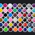 48 цвета Смешивания вю гель лак для ногтей Pure + Блеск Блестка + блеск + перламутровый перламутр цвета ногтей уф набор гель гель комплект