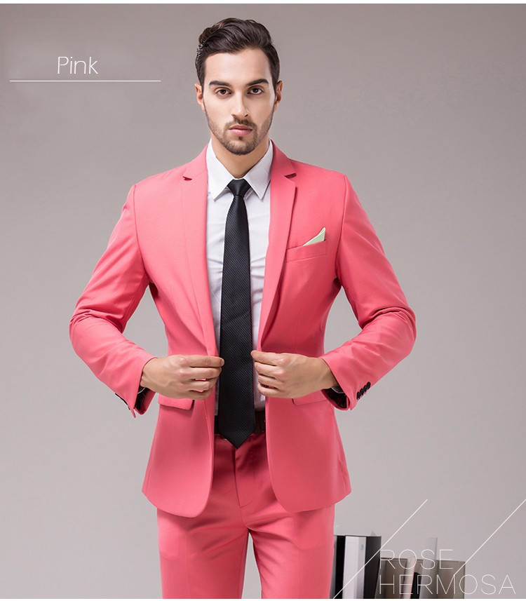 Pink Wedding Tux