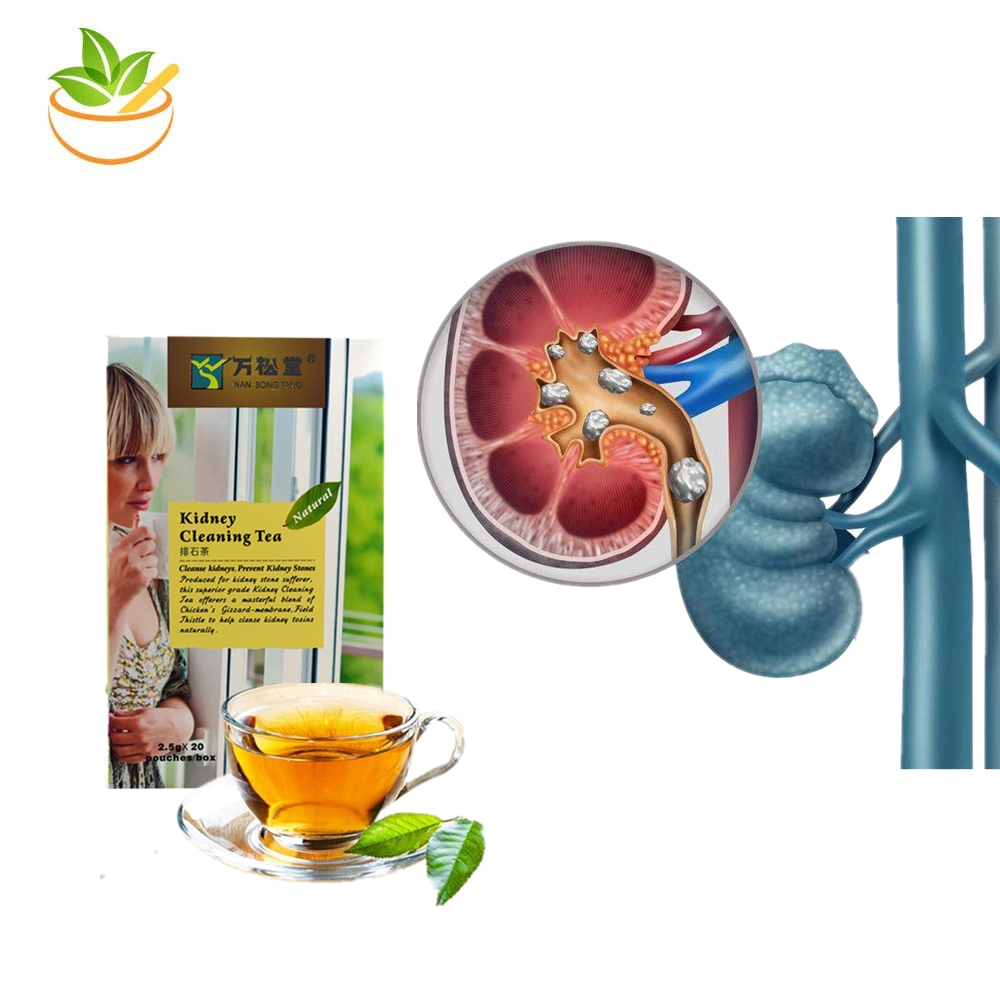 Chinese Kidney Cleaning Tea Medical Teabags Kidney Store Removal Discharge Diuretic Promote Kidney Detox Function