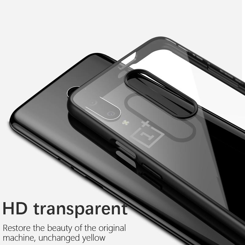 OnePlus 7 için Kılıf IPAKY 7 Pro Durumda Şeffaf Darbeye - Cep Telefonu Yedek Parça ve Aksesuarları - Fotoğraf 3