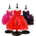 Baby dress flower girl dress For 1 Year birthday Party Gowns Infant