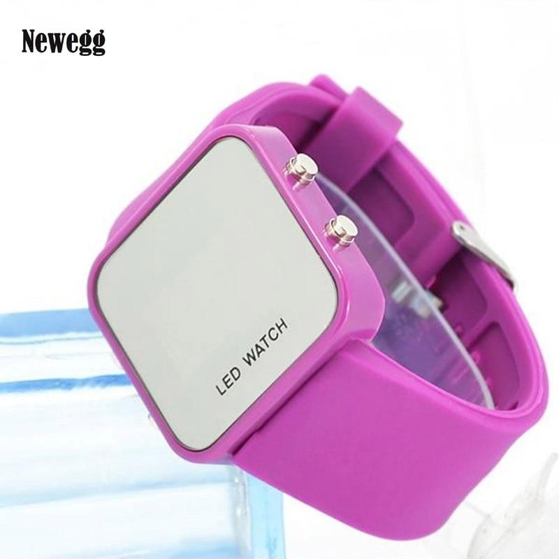 Brand New Fashion Silicone Led Digital Watch ,men women quartz Wrist Watch 2017 Drop Shipping Relogio Feminino Wholesale