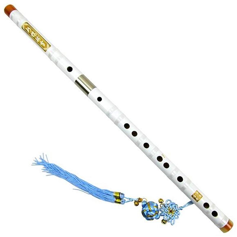 Bamboo Flute Dizi  Professional Transverse Bamboo Flute C D E F G Flauta White Dizi Musical Instruments Bamboo FluteBamboo Flute Dizi  Professional Transverse Bamboo Flute C D E F G Flauta White Dizi Musical Instruments Bamboo Flute