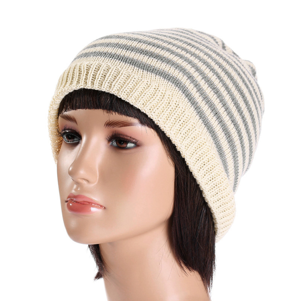 Unisex Fashion Gift Knit Baggy Beanie Hat Winter Warm Bronzing Star Fashion Sleeve Head Cap Beanies Sombreros Apparel Hot