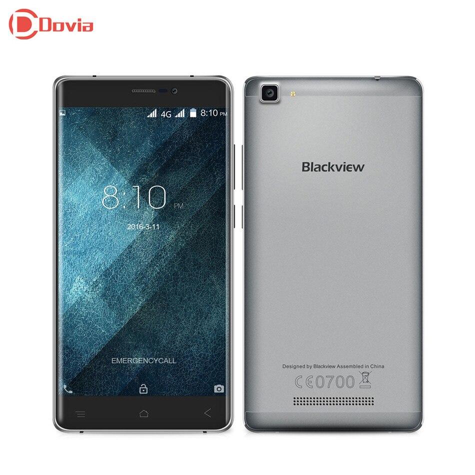 """Цена за Blackview a8 макс 4 г 5.5 """"HD IPS Смартфон Android 6.0 MTK6737 Quad Core 1.3 ГГц Мобильного Телефона 2 ГБ + 16 ГБ 5MP 8MP 3000 мАч мобильный Телефон"""