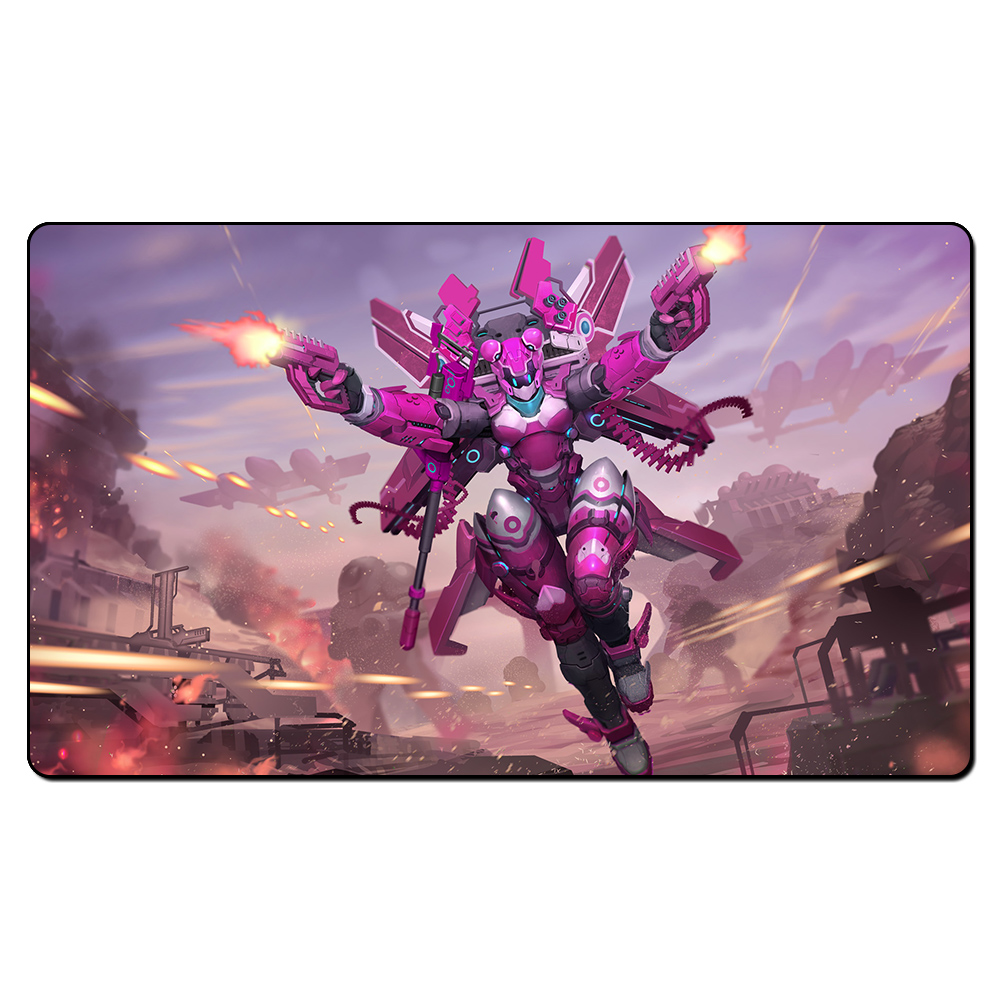 (Airmech Arena) Board Games Playmats, Magical Card The Games Gathering Play Mat, Custom Design Playmat with Free Gift Bag