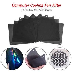 Strainer Cover Mesh-Fans Cooler COMPUTER-COOLING-FAN-FILTER DUST-FILTER 120mm Fan-Case