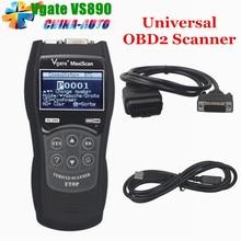 10 ШТ. VGATE VS890 OBD2 Сканер Code Reader Универсальный многоязычная и Автомобиля Диагностический Инструмент Сканирования Vgate MaxiScan VS890 DHL Бесплатно