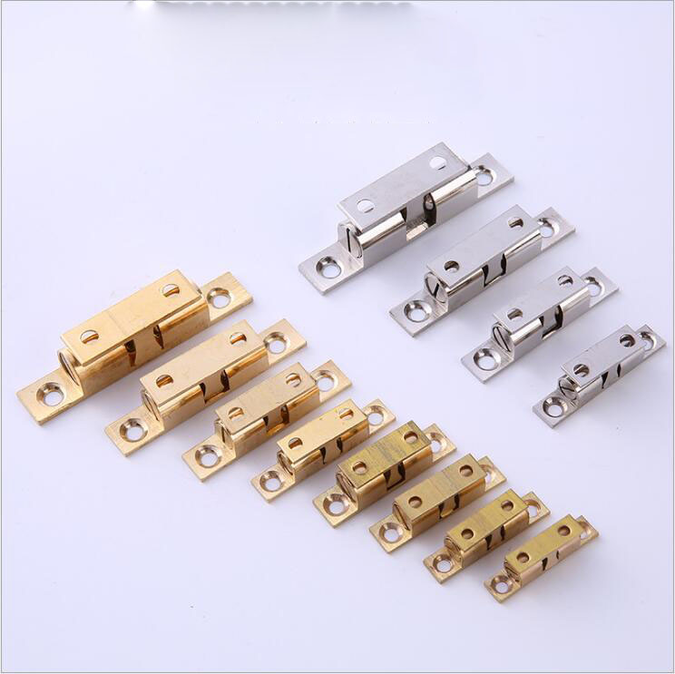 Copper Touch Bead Furniture Hinge Lock Type Door Spring  Cabinet Copper Card Bead Touch Bead Lock