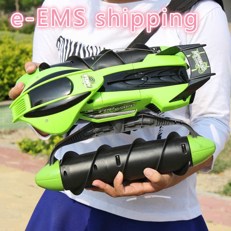 RC Stunt Tank Nitro Remote Control Car Caminhao De Controle Remoto Driving OnWater and Land Amphibious Electric Toys ChildrenRC Stunt Tank Nitro Remote Control Car Caminhao De Controle Remoto Driving OnWater and Land Amphibious Electric Toys Children