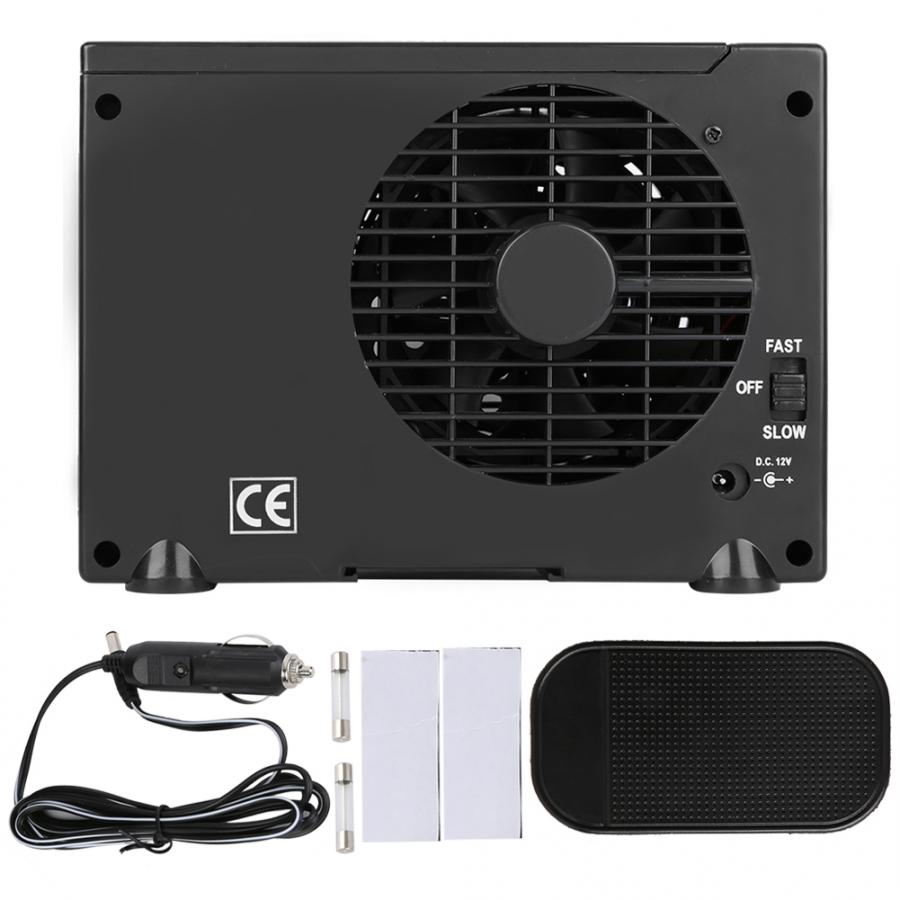 Household Adjustable 12V 60W Car Air Conditioner Cooler Cooling Fan Water Ice Evaporative Cooler Portable ToolHousehold Adjustable 12V 60W Car Air Conditioner Cooler Cooling Fan Water Ice Evaporative Cooler Portable Tool