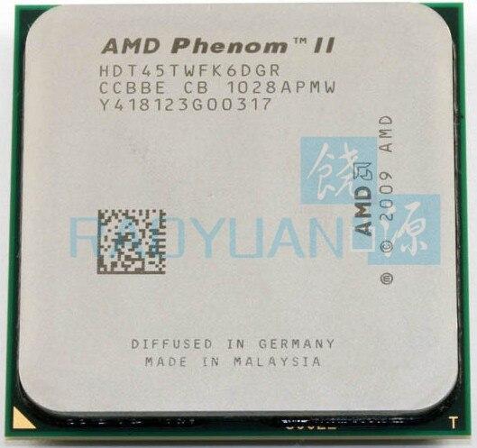 AMD Phenom II X6 1045T - HDT45TWFK6DGR  2.7GHz Six-Core CPU Processor Socket AM3