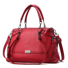 2018 New Fashion Women Handbags High Capacity Tote Bag Soft PU Leather Shoulder Bag Boston Female Casual Messenger Bags tinkin high capacity soft casual pu leather female handbag fashion women shoulder bags daily women tote all match messenger bag