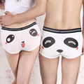 2pcs Lovers Couples Panties Cute Cartoon Panda Printed Low Waist Boxer Underpants Women Men Funny Modal Underpant Shorts 6 Color