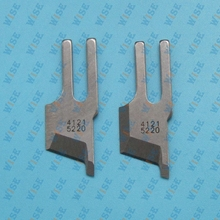 2 PCS KNIVES B4121 522 000 FOR JUKI DLM 5200 5400 DMN 5420