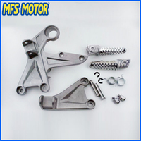 Freeshipping Motorcycle Parts Rear Passenger Footrest Foot Peg Bracket For Honda CBR1000RR 2004 2005 2006 2007