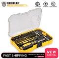 Набор инструментов для ремонта DEKO LSD03 Набор отверток для дома Набор отверток для самостоятельной сборки набор магнитных отверток для дома