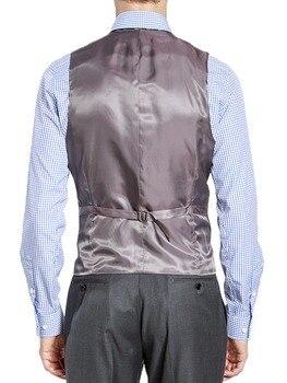 HCF Durch Luft 2019 Mode Herren Anzug Weste Business Slim Fit Kellner Weste Männer Anzüge Blazer Nach Maß Weste Für Hochzeit