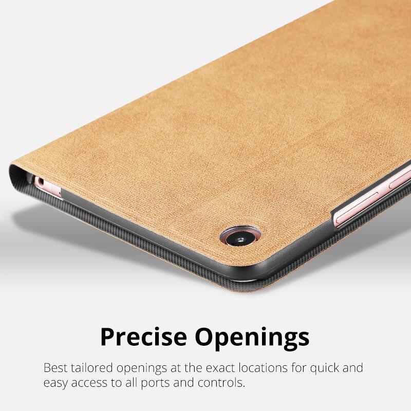 IBuyiWin Case For Xiaomi Mi Pad 4 Case Slim Retro Folding Stand PU Leather Smart Cover For Xiaomi MiPad 4 Case 8.0 Tablet Funda