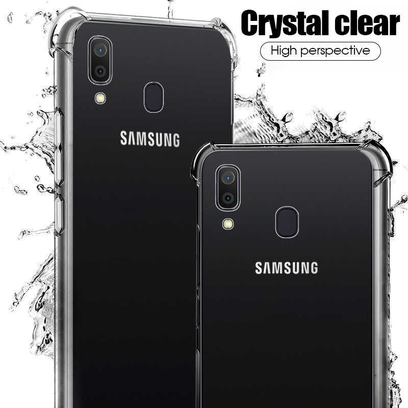Soft Clear Case For Samsung Galaxy A70 A50 A40 A30 A20 A10 A2 Core A20e M30 M20 M10 Cover Case For Samsung Galaxy S10 Plus S10e
