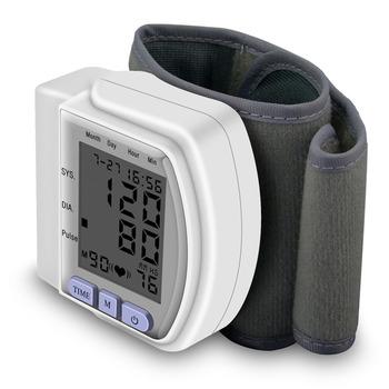 Cyfrowy nadgarstek bp mierniki ciśnienia krwi mierniki tonometr sphygmomanometer mankiet automatyczne monitory opieki zdrowotnej nowość tanie i dobre opinie U-Kiss Z Chin Kontynentalnych Mierzenie ciśnienia krwi ZE278700 DO NADGARSTKA 71*73*32mm (wristband not included) 135~195mm