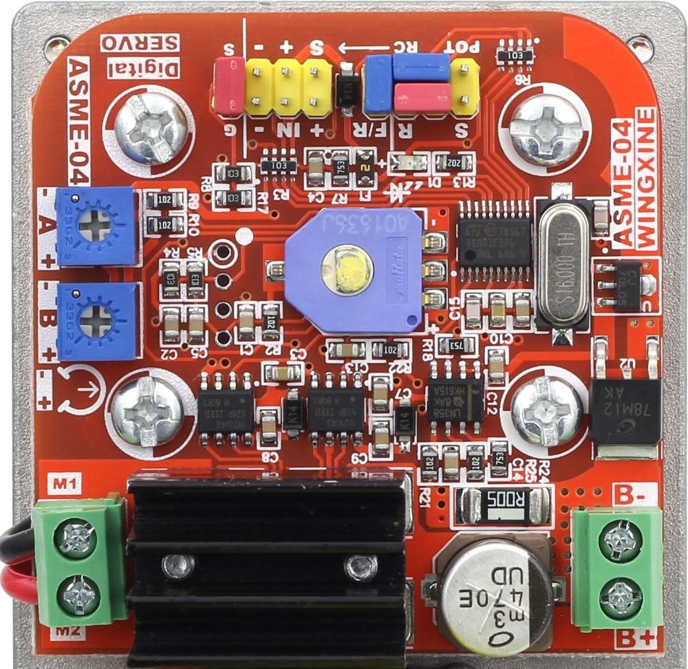 Free Shipping ASME-04 Series High-power High-torque Servo Controller