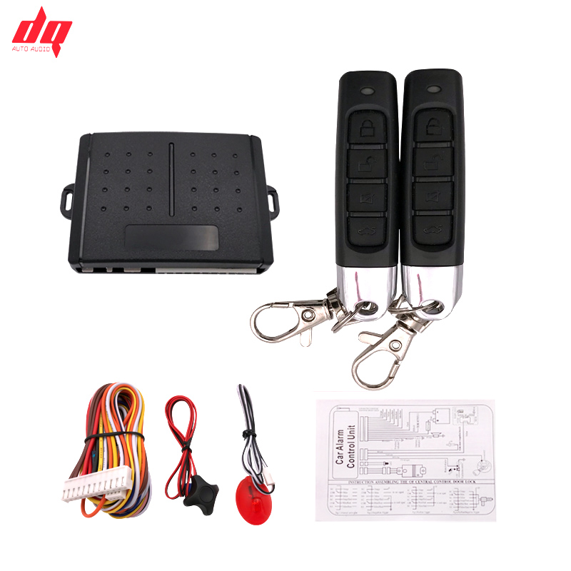 Car Alarm System 12+4 Car Auto Remote Central Kit Door Lock Locking System Central Locking with Remote Control