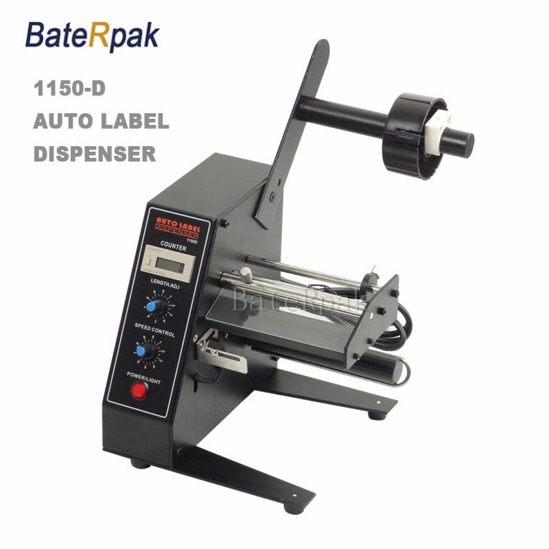 BateRpak 1150D Desktop Label Dispenser,Label separator,automatic Label retractor,Label Rewinder,AC 110/220V,50/60Hz 30W ftr 118c automatic label dispenser with counter 1 sensor 6 digit led label 3 100mm wide 4 150mm long