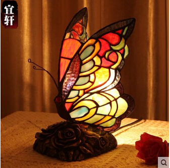 Aliexpress.com : Buy hand made tiffany colorful butterfly
