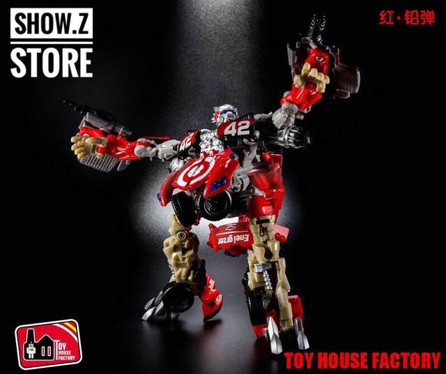 US $40 27 |[Show Z Store] THF Toy House Factory THF 02 Leadfoot Deluxe DA34  Movie 3 Dark of The Moon Transformation Action Figure-in Model Building