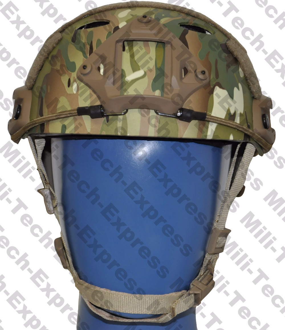 MILITECH FAST MC PJ Carbon Style Vented Airsoft Tactical Helmet Ops Core Style High Cut Training Helmet Ballistic Style Helmet fast aor2 pj carbon style vented airsoft tactical helmet ops core style high cut training helmet fast ballistic style helmet