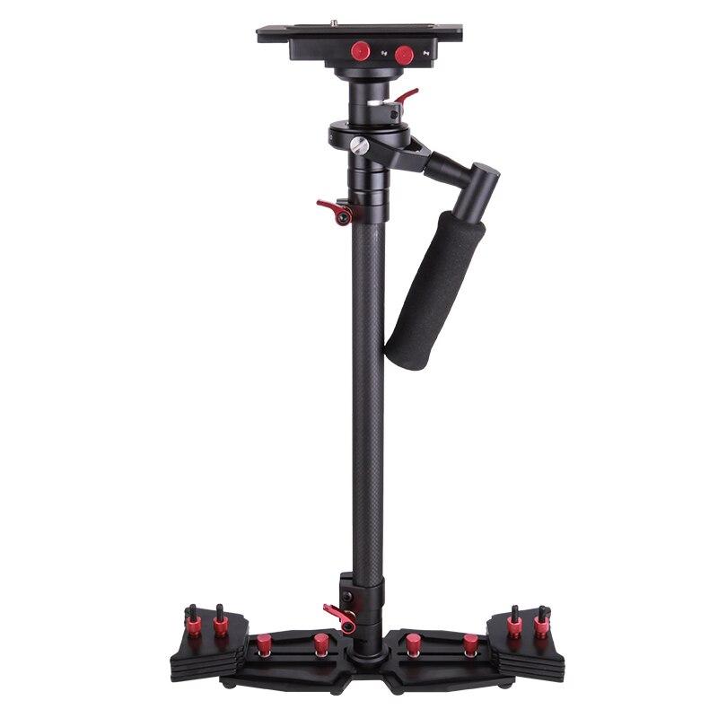 HD2000 fibra de carbono Steadicam estabilizador de mano para cámara de vídeo videocámara