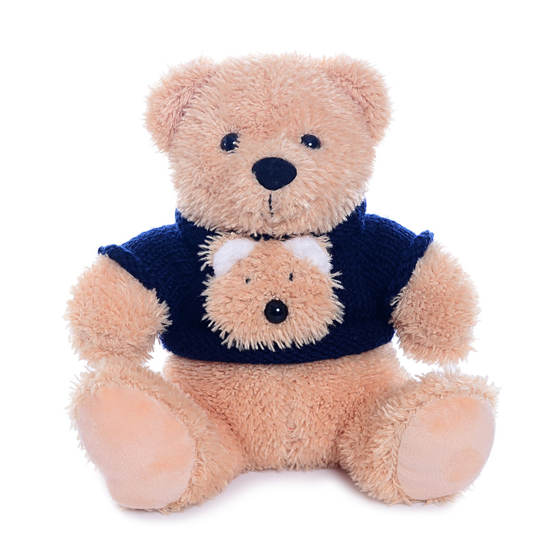 Plush Teddy Bears Toys Stuffed Cartoon Animal Wearing Sweater Soft Dolls Teddy Collection Best Christmas Gifts for Kids Girls 8 care bears beans best friends plush 25cm