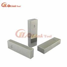 Bloque de precisión de acero paralelo, 1mm, 2mm, 3mm, 4mm, 5mm, 6mm, 7mm, 8mm, 9mm, 10mm