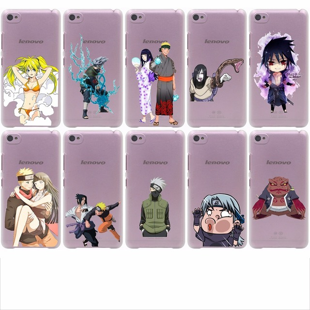 Naruto transparent phone case for Lenovo S850 90 60 A536 328, Nokia 535 630 730 640 XL & Sony Z2 3 4