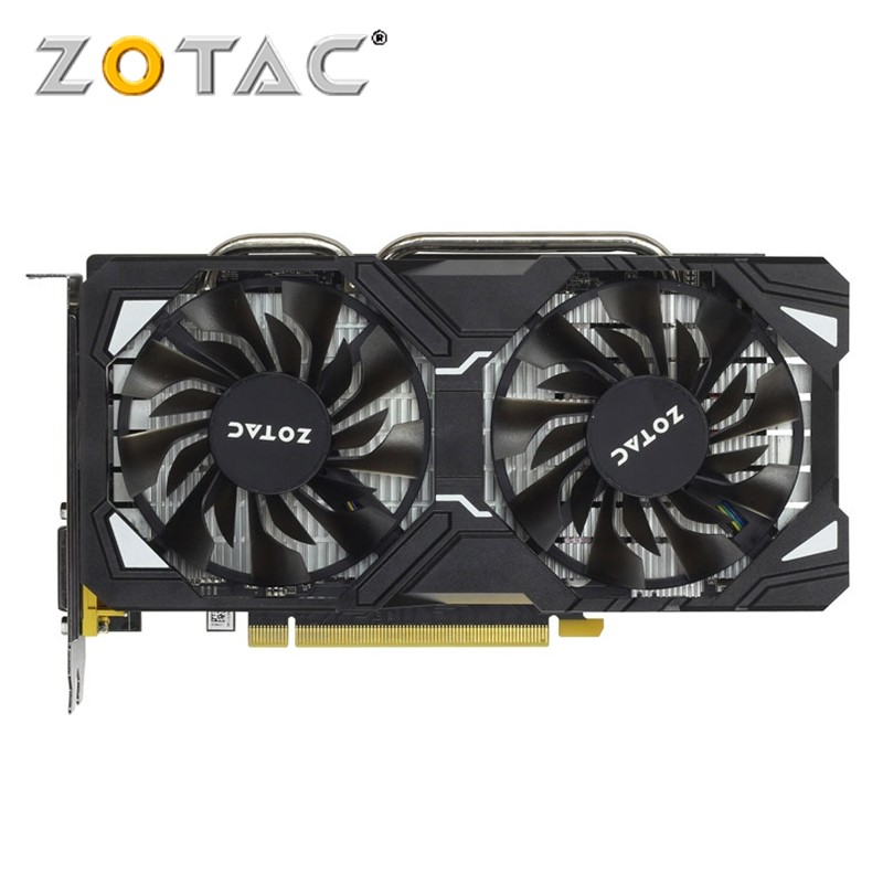 ZOTAC Video Card Original GTX 1060-3GD5 Destroyer SM / HA GPU Graphics Cards for GeForce nVIDIA GTX1060 3G 192Bit PCI-E X16 HDMI image