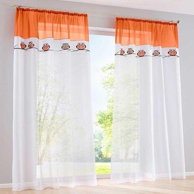 Moderno puro tulle tende per camera da letto tende della finestra ...